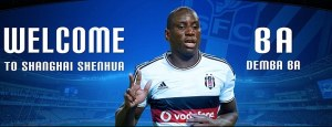 Demba Ba already being welcomed to Shanghai