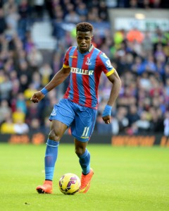 Zaha back at Palace where he fits in so well